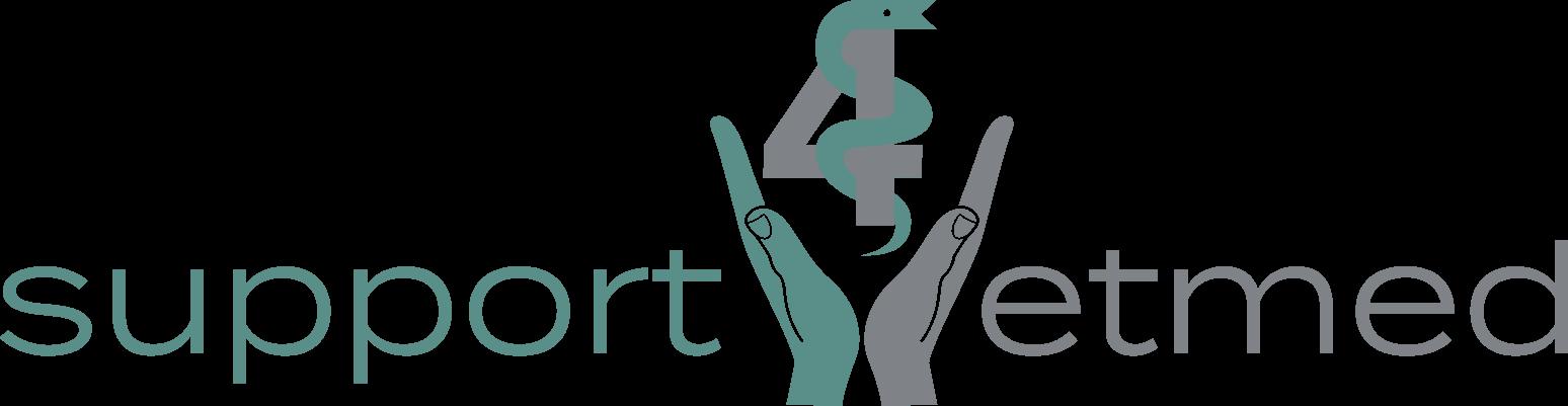 Support 4 vetmed Logo länglich